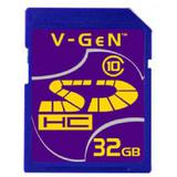 V-GEN SDHC 32GB - Class 10 - Secure Digital / Sd Card