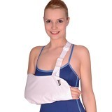 VARITEKS Arm Sling with Belt Size S [VAR302-K.S] (Merchant) - Penyangga dan Alat Bantu Lengan