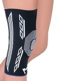 VARITEKS Knitted Flexible Knee Support Size XL [VAR453.XL] (Merchant) - Penyangga dan Alat Bantu Kaki