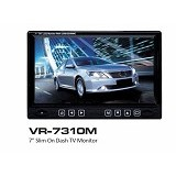 VARITY Car LED Monitor [VR-731OM] (Merchant) - Audio Video Mobil