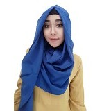 VELLISH.CO Jilbab Instan Hanatajima - Dark Blue (Merchant)