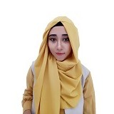 VELLISH.CO Jilbab Instan Hanatajima - Yellow (Merchant)