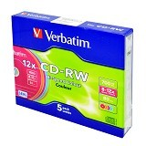 VERBATIM CD-RW Single Pack 5 Pcs - Cd-Rw Disc
