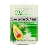 VIENNA Avocado & Milk Body Scrub Pot 1 kg (MErchant) - Lulur Tubuh / Body Scrub