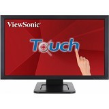 VIEWSONIC Optical Touch Monitor 23.6 Inch [TD2421] - Monitor Led Above 20 Inch