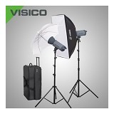 VISICO HH Novel Kit 3 Flash Head VC-300 - Lighting System Kit