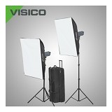 VISICO HH Soft Box Kit 2 Flash Head VC-300 - Lighting System Kit