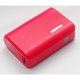 VISIPRO Powerbank CEB 5200mAh - Pink - Portable Charger / Power Bank