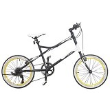 VIVACYCLE Mini Racing Zero 26 - Black (Merchant) - Sepeda Kota / City Bike