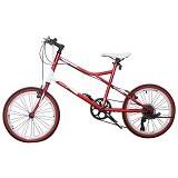 VIVACYCLE Mini Racing Zero 26 - Red (Merchant) - Sepeda Kota / City Bike