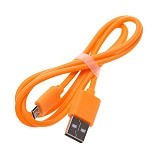 VIVAN Cable Micro USB [CBM80] - Orange (Merchant) - Cable / Connector Usb