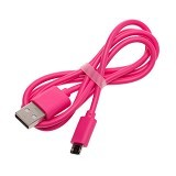 VIVAN Cable Micro USB [CBM80] - Pink (Merchant) - Cable / Connector Usb