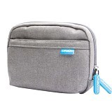 VIVAN Portable Soft Case for Digital Gadgets [VBG-S01] - Gray (Merchant) - Sarung Gps / Pouch