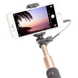 VIVAN Tongsis Monopod Cable Selfie Stick for Android/iPhone [ST-02] - Gold (Merchant) - Gadget Monopod / Tongsis