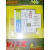 VIZZ Battery Double Power 5200mAh Samsung S4 I9500 / Grand2 - Handphone Battery