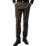 VM Celana Panjang Size 27 - Coklat Tua - Celana Panjang Pria