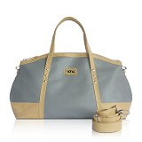 VONA Ete Top-handle Bag - Grey/Cream - Tas Tangan Wanita