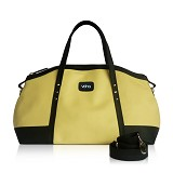 VONA Ete Top-handle Bag - Ivory/Black - Tas Tangan Wanita