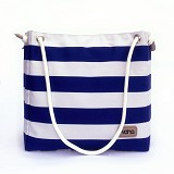 VONA Nautical Brisa Tote - Blue/White - Tote Bag Wanita
