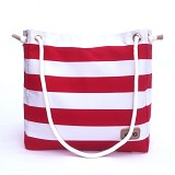 VONA Nautical Brisa Tote - Red/White - Tote Bag Wanita