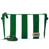 VONA Nautical Costa Clutch - Green/White - Clutches & Wristlets Wanita