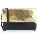 VONA Pitta Clutch Distressed - Gold (Merchant) - Clutches & Wristlets Wanita
