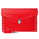 VONA Vittori Clutch - Red - Clutches & Wristlets Wanita