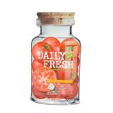 VOV Daily Fresh Sheet Mask Tomato White Collagen (V) - Masker Wajah