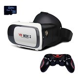 VR BOX 2nd Generation Cardboard Virtual Reality [PVB2M1T] (Merchant) - Gadget Activity Device