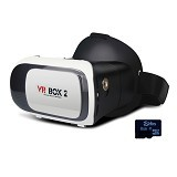 VR BOX 2nd Generation Cardboard Virtual Reality [PVB2V2] (Merchant) - Gadget Activity Device