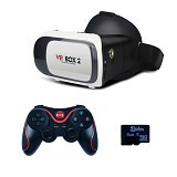 VR BOX 2nd Generation Cardboard Virtual Reality [PVB2V2T] (Merchant) - Gadget Activity Device