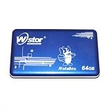 W-Stor Notebox SSD 64GB - Blue (Merchant) - Hard Disk External 2.5 Inch
