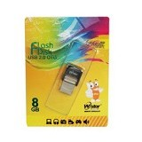W-Stor USB 2.0 Snap Dual OTG 8GB (Merchant) - Usb Flash Disk Dual Drive / Otg
