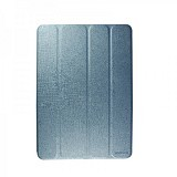 WALLSTON Leather Case Lasting Elegant for Apple iPad Air [LTLEIPAD5-WL03] - Blue - Casing Tablet / Case