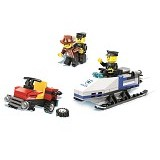WANGE Bricks Snow Mobile [26016] - Building Set Occupation
