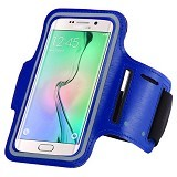 WANKY CELL Armband L Phone Running - Blue (Merchant) - Arm Band / Wrist Strap Handphone
