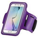 WANKY CELL Armband L Phone Running - Purple (Merchant) - Arm Band / Wrist Strap Handphone