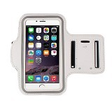 WANKY CELL Armband L Phone Running - White (Merchant) - Arm Band / Wrist Strap Handphone