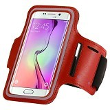 WANKY CELL Armband M Phone Running - Red (Merchant) - Arm Band / Wrist Strap Handphone