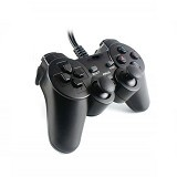 WANKY CELL Gamepad Single Dual Shock - Black (Merchant)