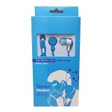 WANKY CELL Headset Stereo for Samsung [HM60] - Blue - Earphone Ear Monitor / IEM