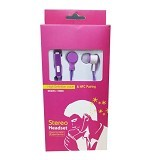 WANKY CELL Headset Stereo for Samsung [HM60] - Purple - Earphone Ear Monitor / Iem