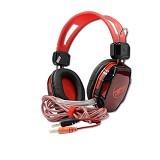 WARWOLF Gaming Headset [R1] - Red - Gaming Headset