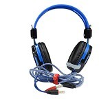WARWOLF Gaming Headset [T4] - Blue - Gaming Headset
