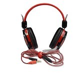 WARWOLF Gaming Headset [T4] - Red - Gaming Headset