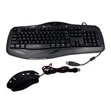 WARWOLF Gaming Keyboard USB & Mouse USB [KM780] - Keyboard Mouse Combo