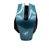 WARWOLF Gaming Mouse Polos [M22] - Blue - Gaming Mouse