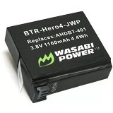WASABI POWER Battery for GoPro HERO4 AHDBT-401 (Merchant) - On Camera Battery