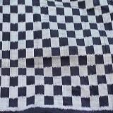 WASTRA ETNIK DESIGN Catur Hitam Putih [Wastra073] - White Black - Setelan Songket Wanita
