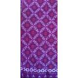 WASTRA ETNIK DESIGN Endek Gringsing [Wastra011] - Purple - Setelan Songket Wanita